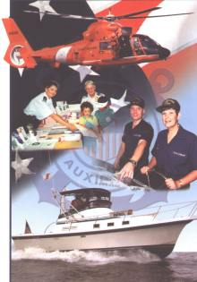 Collage of Coast Guard Auxiliary Activities